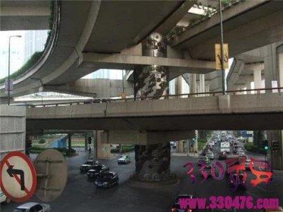 上海立交桥龙柱---真的是灵异事件?
