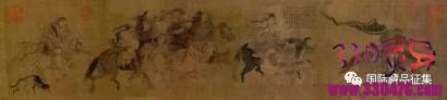 老农家的挡灰布竟是千年名画《文姬归汉图》