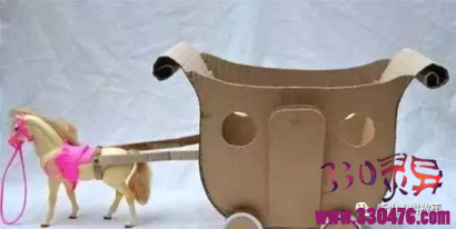 娃娃引子的灵异故事:白马车