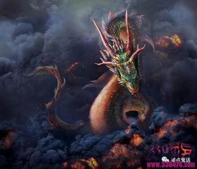 民间蛇渡劫的传说,吃死尸修行化为龙