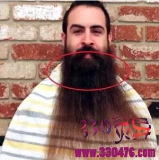 四十年不刮胡子,依靠胡子成为了网红