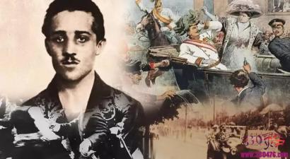 牛X的19岁青年塞尔维亚加夫里洛·普林西普,开了两枪,干掉3000万人