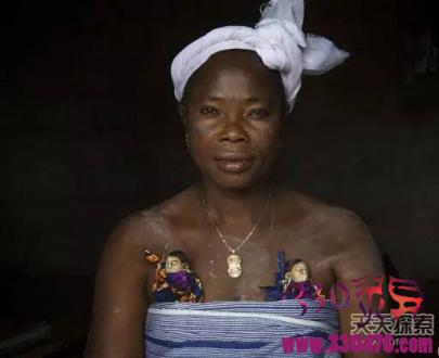 非洲巫术:胸前喂养巫毒娃娃,夭折的双胞胎做原料