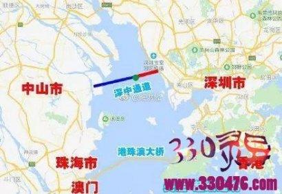 中国又一超级工程深中通道创世界先例 难度比肩港珠澳大桥