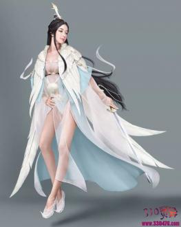 广寒仙子,姑射仙子,瑶姬仙子,芙蓉仙子妖娆的诱惑 ~ 上古神话中的四大神仙姐姐