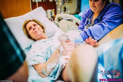 美国61岁女子Cecile利用儿子男朋友妹妹的卵子,成功代孕替儿子生下了自己孙子Uma...