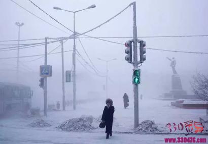 Oymyakon:地球上最低-71.2°C的角落比冰箱最低温度还冷