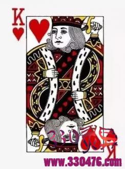 红桃K是查理大帝、黑桃K是大卫王、梅花K是亚历山大大帝、方块K是恺撒...