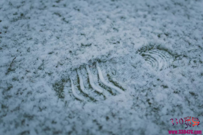头七回魂夜,雪地留下一串爷爷的脚印