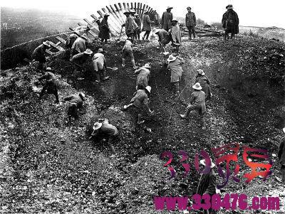 中国劳工:第一次世界大战中一支曾经战斗在欧洲的特别军团!
