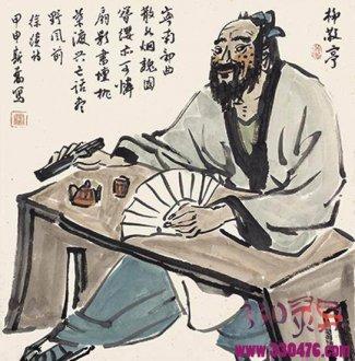 柳敬亭传:恩公让一犁