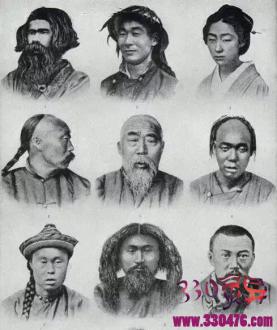 """中国人如何从""""白种人""""变成了""""黄种人""""?"""