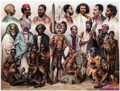 """黑奴繁殖场:奴隶主把黑奴变成一个个""""繁殖机器"""",把女奴当作""""母畜""""繁殖下来的孩子以牲口的价格卖给种植园"""