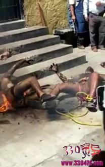 重口味!那些痛苦的火灾、自焚事件现场照片!