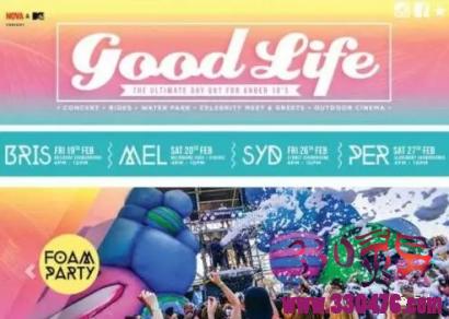 澳洲布里斯本音乐祭[Good Life Festival]白衣小女孩灵异照片,真的毛骨悚然!