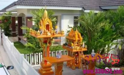 泰国人家门前的神秘供台,有何秘密?