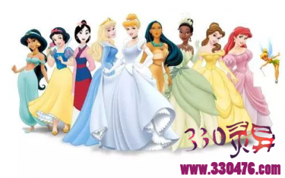 """当迪士尼公主白雪公主、小美人鱼、冰雪女王艾莎、贝儿公主、茉莉公主都变成肥妞,你还有""""肉欲""""吗?"""
