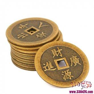 怪和尚的三枚铜钱