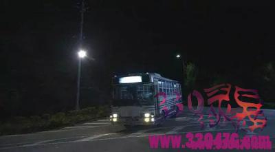 假如偶遇北京330公交车末班车,你敢上车吗?