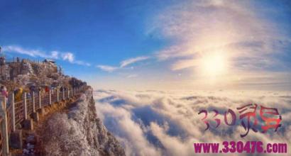 峨眉山金顶:从舍生崖跳下去,会成佛还是成魔?