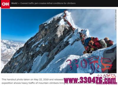 """珠峰惊现""""大堵车"""":海拔8000米一天冻死4人!"""