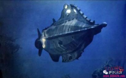 可以永远在水下作战的科幻武器:1954年1月21日世界第一艘核潜艇鹦鹉螺号下水