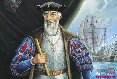 1502年大航海家伽马再次出发前往印度