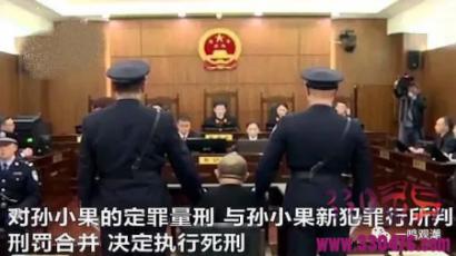 孙小果伏法:难逃迟到的正义审判