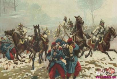 普法战争中法国惨败:法国人打仗不行却有巨款去赔