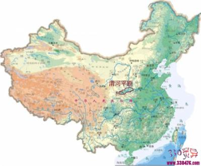 """我国北方地区的""""渭河平原"""",属于什么地质构造?"""