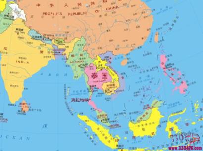 """泰国为什么不开凿""""克拉地峡运河"""",从而取代新加坡的地位?"""