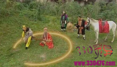 孙悟空给唐僧画的圈真的能抵挡妖怪吗?