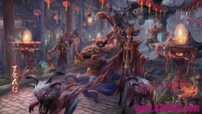 平安时代百鬼夜行:四女妖般若、骨女、产女、雪女由执念而化