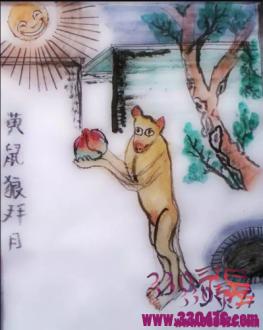黄鼠狼拜月:故宫目睹黄鼠狼拜月,场面太诡异…