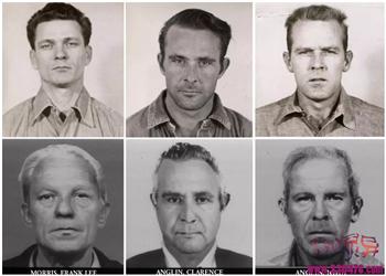 怪谈:旧金山恶魔岛越狱事件,Frank Morris、John Anglin、Clarence Anglin报纸做假头