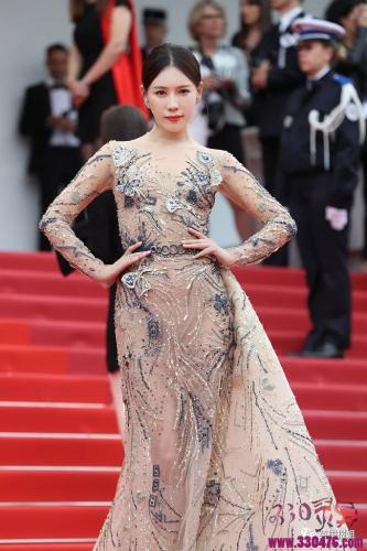 《延禧攻略》高贵妃的丫鬟芝兰施予斐戛纳电影节红了